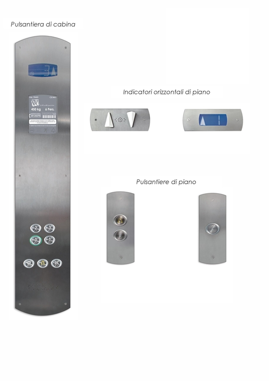 Duelle lift with passion pulsantiere serie flat for Duelle scale